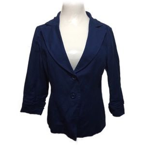 Forever 21 electric blue fitted blazer size M